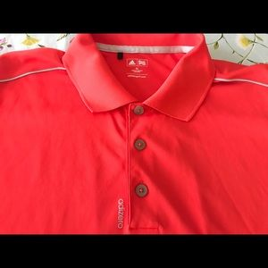 Adidas men's XL golf polo shirt adizero